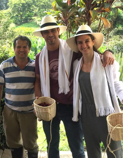 Colombian Growers on a coffee tour