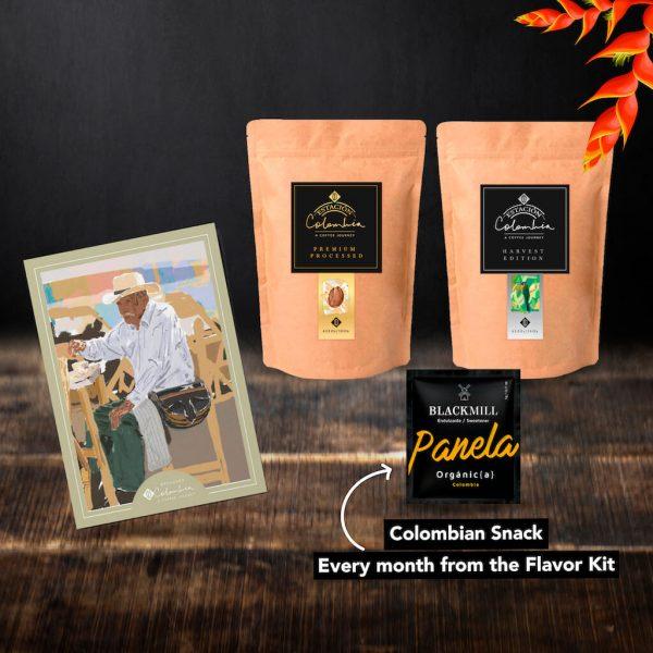 Colombian Coffee Premium subscription box